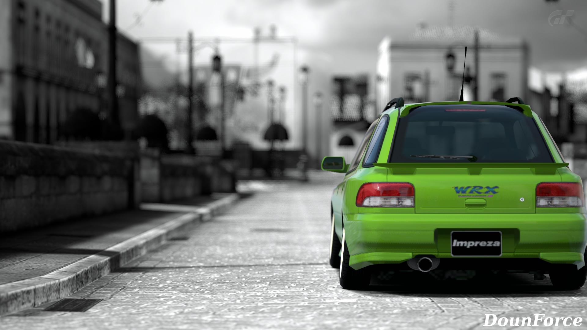 Impreza Sportwagon Wrx Sti Version Gran Turismo 6壁紙 Downforce